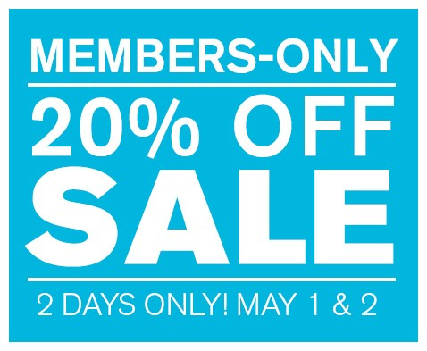 members only 20 off sale legion of honor