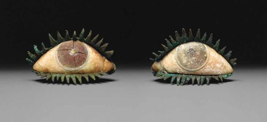Pair of eyes. Greek, 5th century BC or later. The Metropolitan Museum of Art