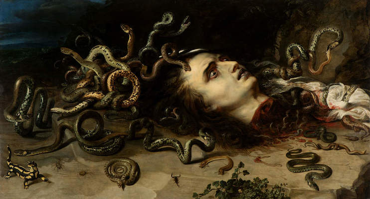 "Peter Paul Rubens, ""Head of Medusa,"" ca. 1617–1618"