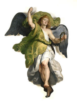 "Peter Paul Rubens, ""Angel"", ca. 1611"