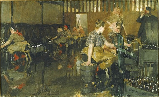 Anders Zorn: The Little Brewery