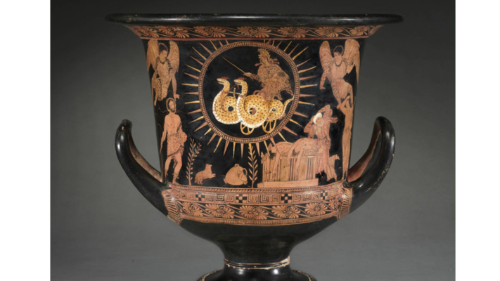Terracotta,ca.400 B.C.E., Attributed to the Policoro Painter, Lucanian
