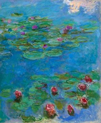 "Claude Monet, ""Water Lilies,"" ca. 1914–1917"
