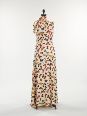 Elsa Schiaparelli, evening dress