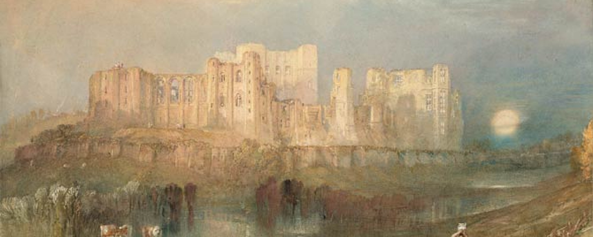 Joseph Mallord William Turner, View of Kenilworth Castle