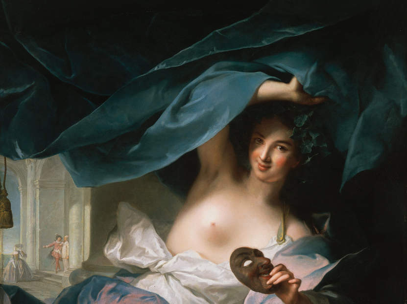 Jean-Marc Nattier, Thalia, Muse of Comedy, 1739